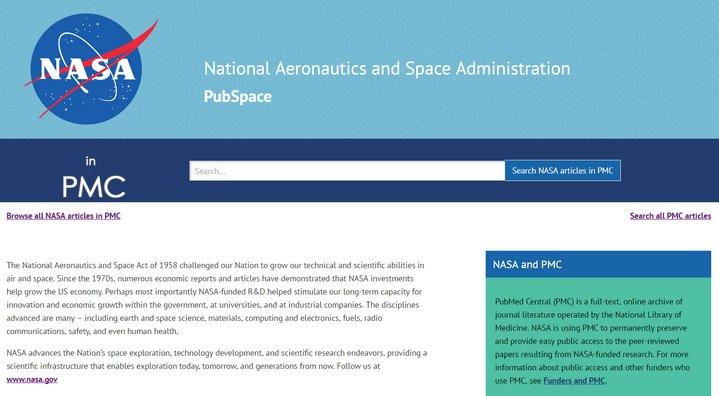 NASA PubSpace