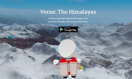 Verne The Himalayas es un juego para Android creado por Google