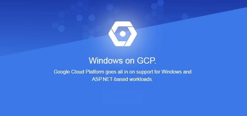 La plataforma Google Cloud, ahora soporta ASP.NET