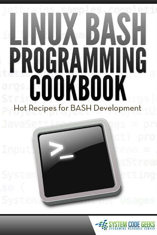 Linux Bash Programming CookBook