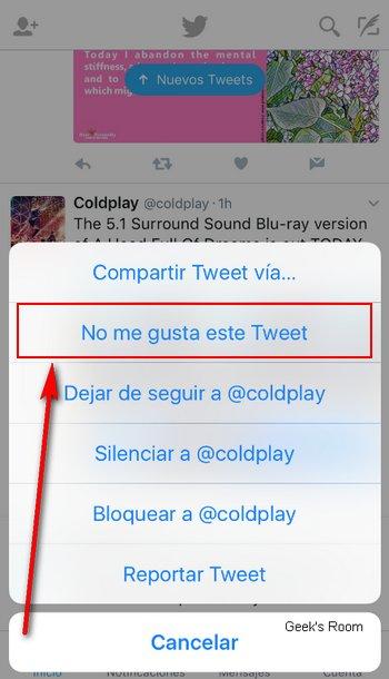 Twitter - No Me Gusta Este Tweet