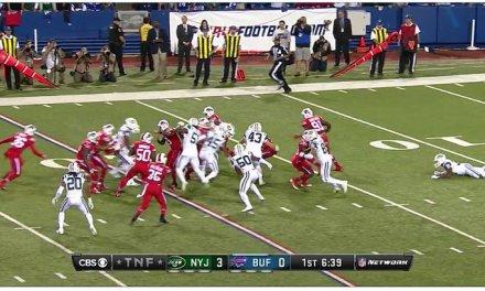 Twitter ya está transmitiendo en directo el partido de la NFL y se ve fantástico!