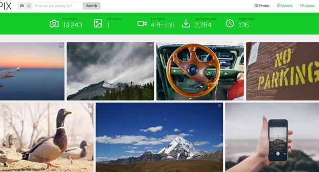 AvoPix, uno de los mejores servicios para descargas de imágenes gratis
