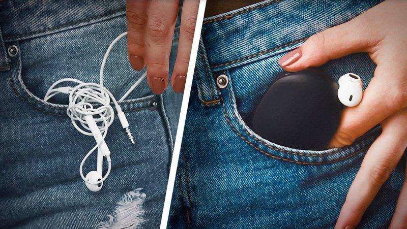 Gary soluciona el problema que muchos tenemos con los cables enredados de los auriculares