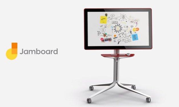 Google Jamboard es una nueva pantalla 4k de 55 pulgadas para trabajar en la nube