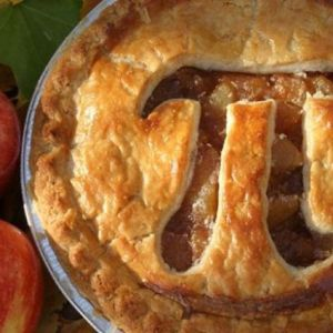pi day apple pie