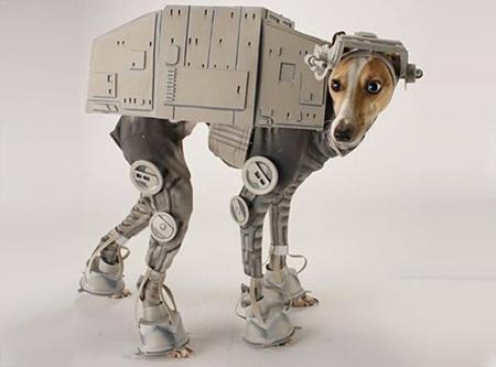 Star Wars AT-AT dog costume