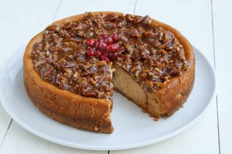 Pumpkin Praline Cheesecake - By Chef Dennis Littley