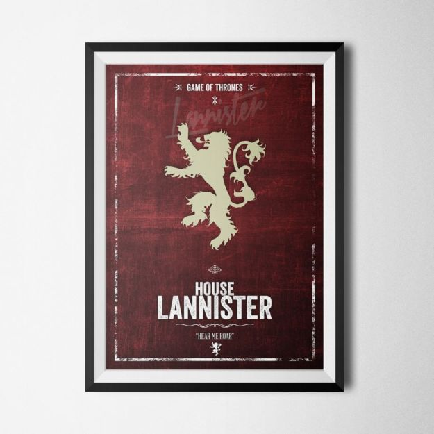 Game of Thrones - Lannister Poster