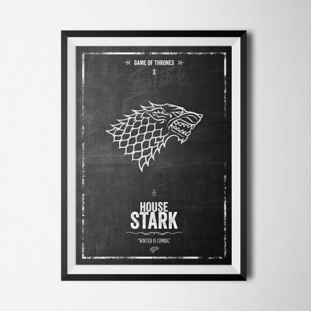 House Stark - Game of Thrones - Poster
