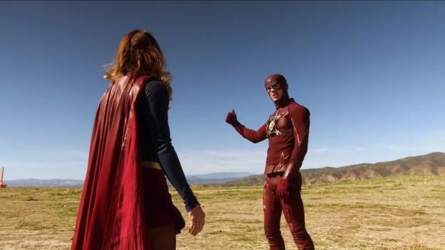 Supergirl The Flash 1