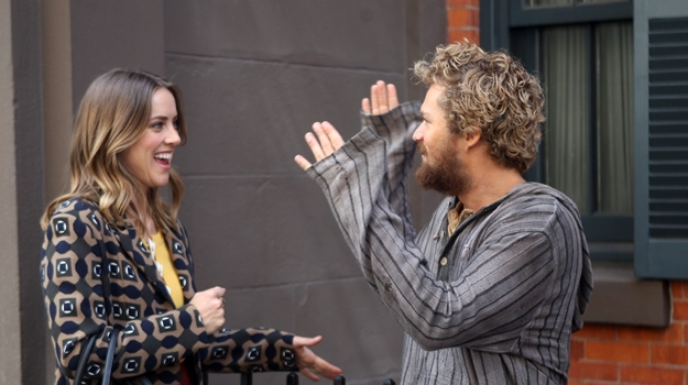 Celebrity Sightings in New York City - April 19, 2016