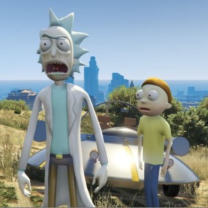 Rick And Morty GTA