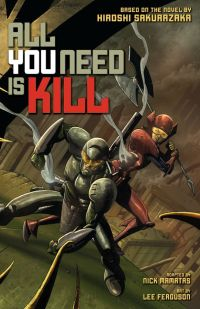 All You need is kill graphic novel cover