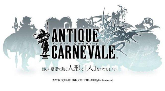 Tráiler de personajes del recién anunciado 'Antique Carnevale'