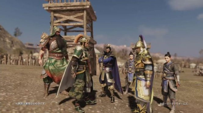 Nuevo personaje jugable y nuevo vídeo de 'Dynasty Warriors 9'