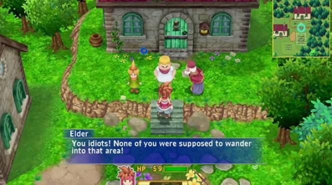 Nuevo vídeo comparativo y gameplay de 'Secret of Mana'