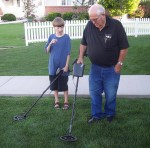 Geezer and Metal Detector
