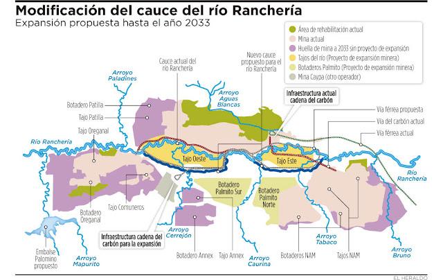 COLOMBIA-EXTERMINIO: PRIVATIZAN UN RÍO Y MATAN DE HAMBRE A 14 MIL INDÍGENAS