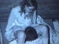 野外SEX盗撮。どうしても、彼女のアソコが舐めたかった彼氏。