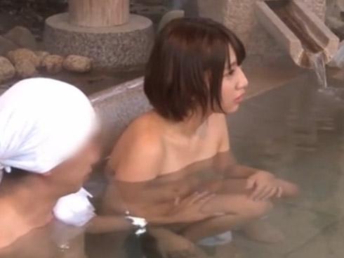 ダンナヒドス☆☆男湯に取り残された若妻、ものの数分で肉便器に・・・