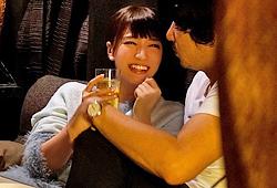 スタッフとの飲み会で泥酔したAV女優が監督にお持ち帰りハメ撮りされてる… 初川みなみ