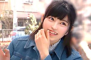 (マジックミラー号)上京小娘がはじめての巨大チンポのどじゃくり体験☆