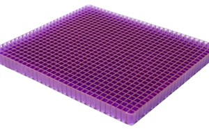 Portable Purple Gel Seat Cushion