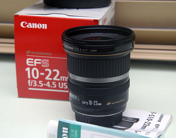 Canon EF-S 10-22 mm f/3.5 - 4.5 mm USM