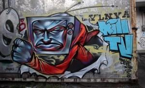 Hemady St. graffiti