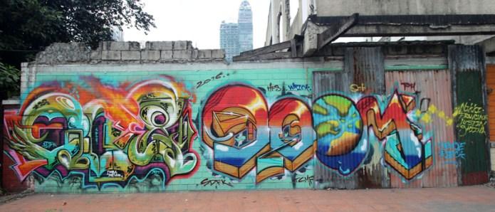 graffiti new manila, Philippines