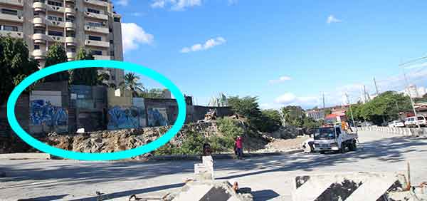 zoomed out view of santolan graffiti