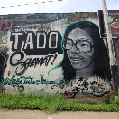 Buenviaje St., Marikina graffiti, June 2016