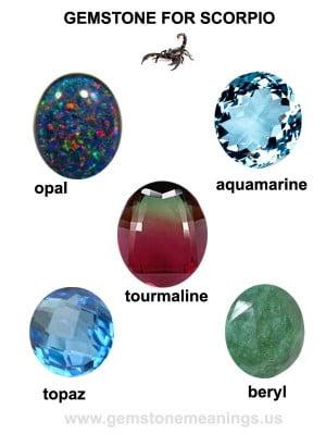 Gemstone For Scorpio - The Lucky Scorpio Gemstone | Gemstone Meanings