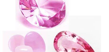 pink gemstone names