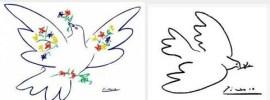Picasso Colombes de la paix