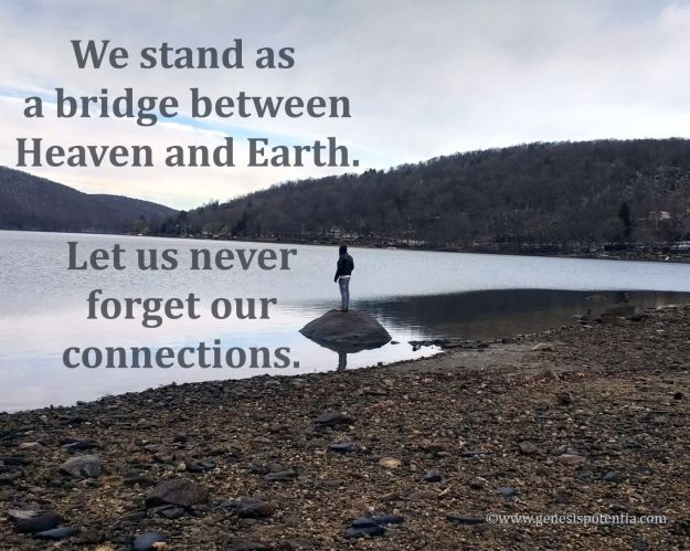 We stand as a bridge