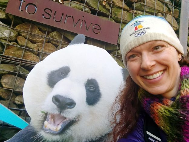 Kelly with Panda 2