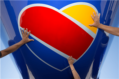 Southwest Airlines Heart
