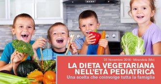 La dieta vegetariana nell'età pediatrica