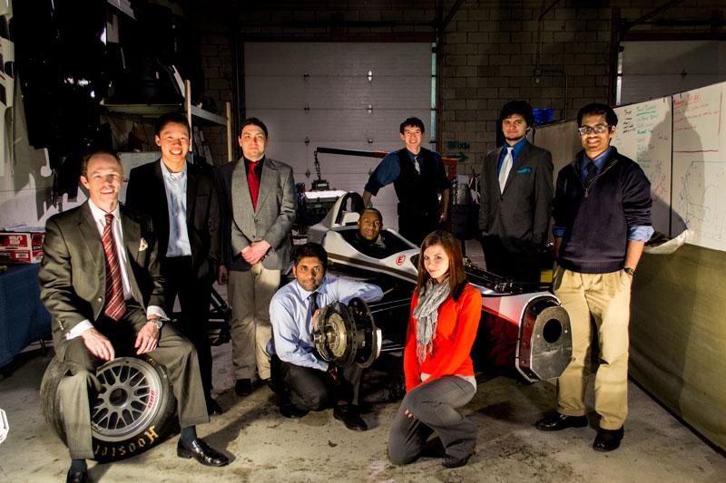 The Geniuses: Casey Putsch, Lawrence Lei, Kyle Norton, Shreyas Shivaprasad, Tiko Nelson, Chris Scherzer, Taylor Wilson, Austin Wright, and Mahesh Chigurupati