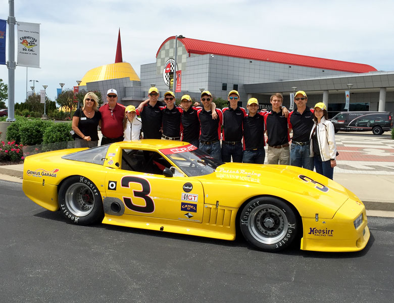 Thank you, Kellie Steen, for your wonderful tour at the National Corvette Museum!