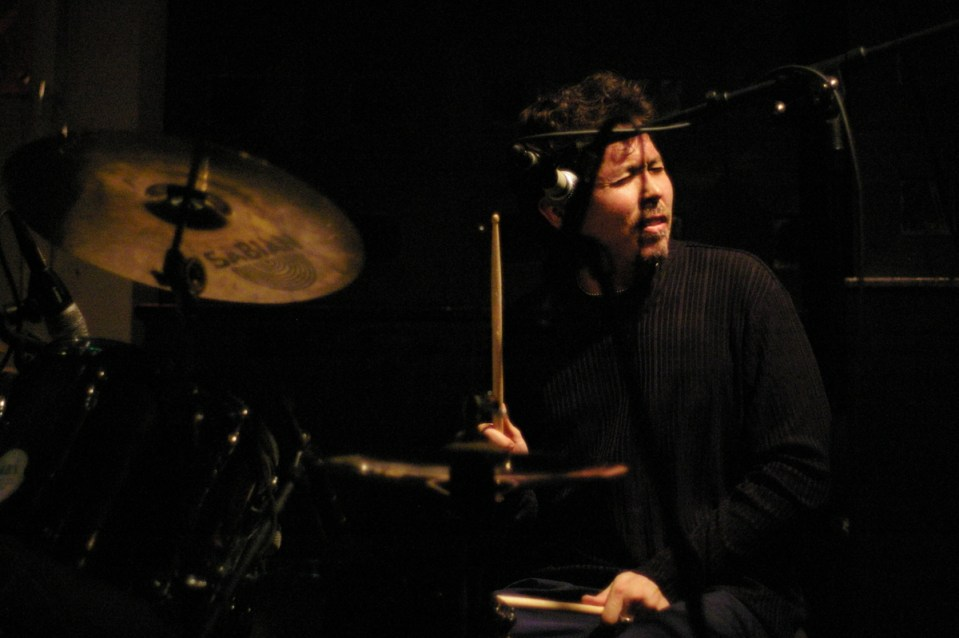 Genji Siraisi on drums at Groove Collective Reunion S.O.B.'s