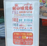 寺本さん制作の広告チラシ