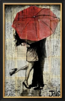 idée cadeau femme saint valentin affiche romantique
