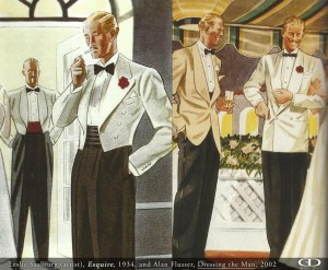 Esquire White Dinner Jacket