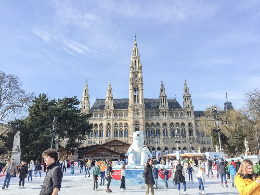 Vienna Ice World down by Rathausplats is a nice activity to kill the afternoon with.
