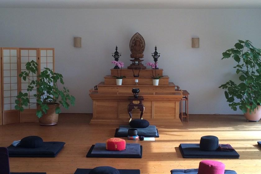 Zen Kloster Eisenbuch - Meditationsraum