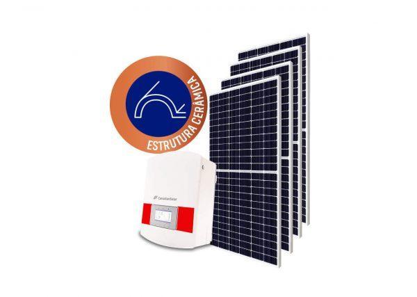 Inversor solar fotovoltaico Canadian Modulo fotovoltaico SUNOVA Stringbox Clamper Estrutura Solar Group Cerâmica