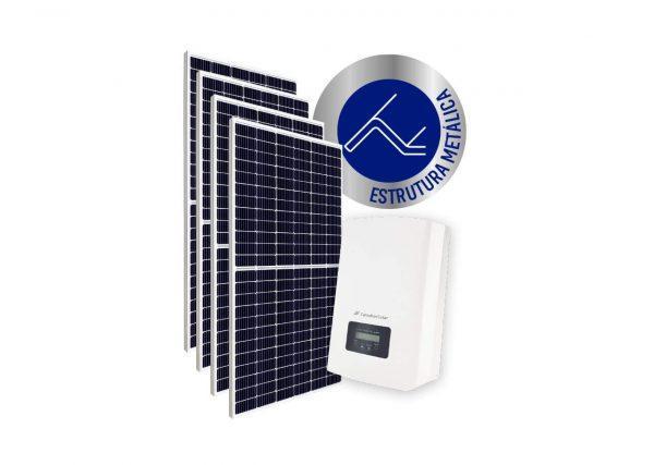 Inversor solar fotovoltaico Canadian Modulo fotovoltaico SUNOVA Stringbox Clamper Estrutura Solar Group Metálica